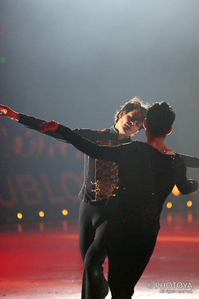 Stéphane Lambiel und Daisuke Takahashi