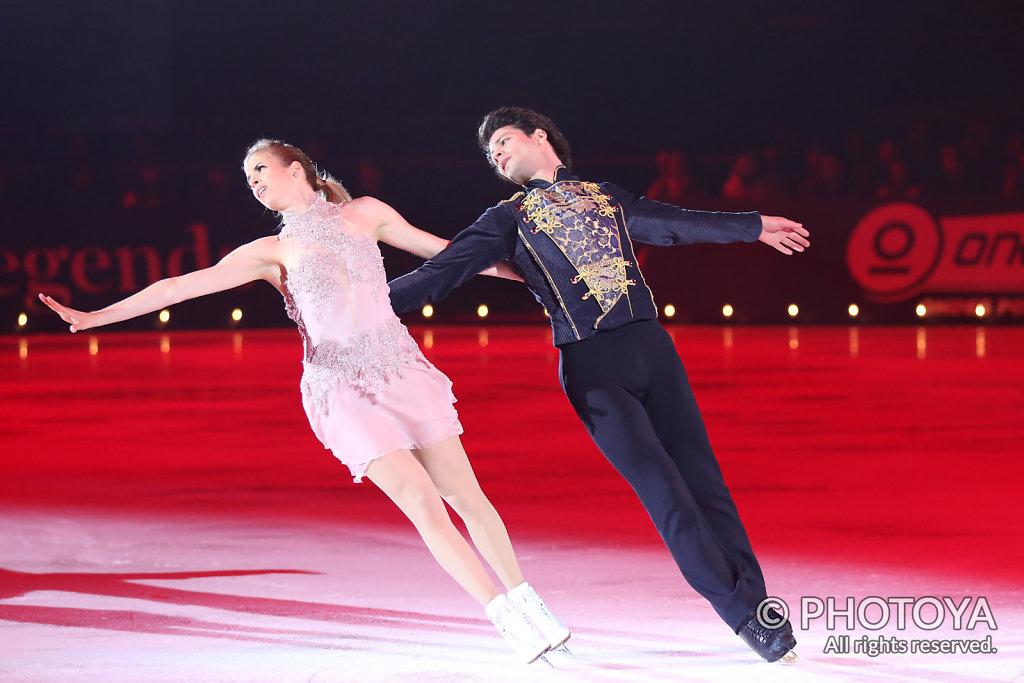 Carolina Kostner & Stéphane Lambiel